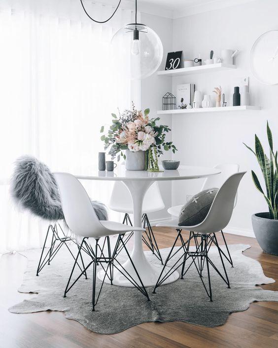 mesa de jantar redonda 4