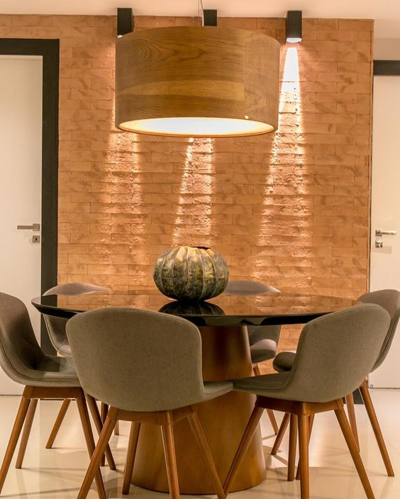 mesa de jantar redonda 5