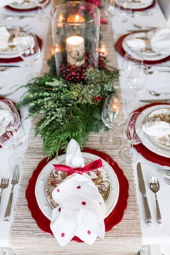 mesa decorada natal 2