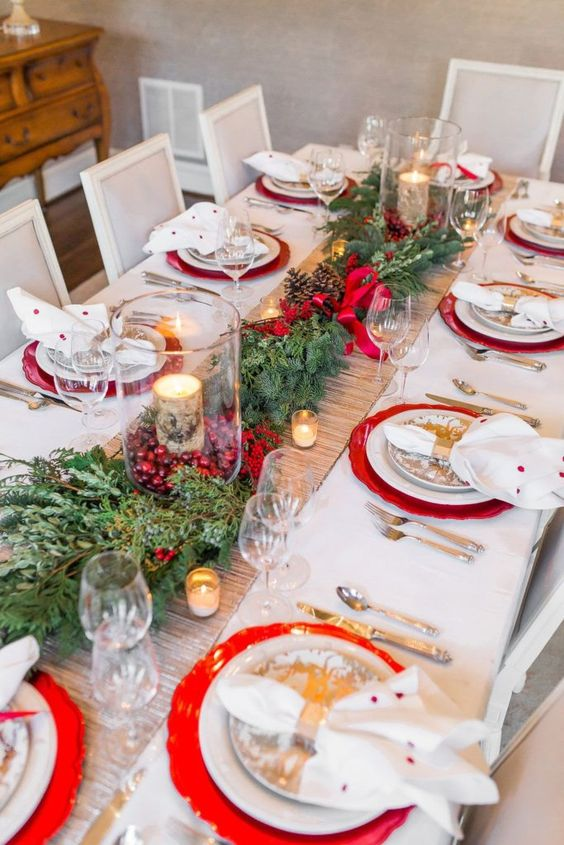 mesa decorada natal 3