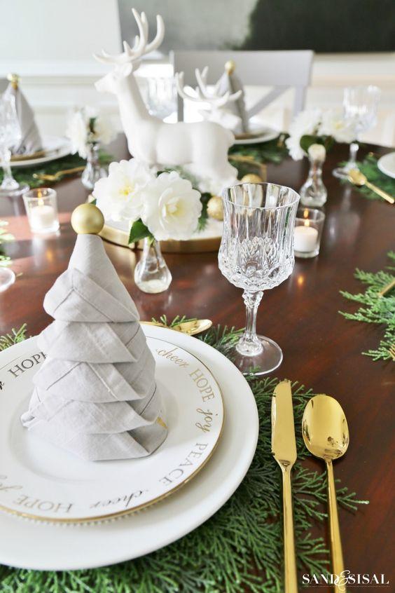 mesa decorada natal 8