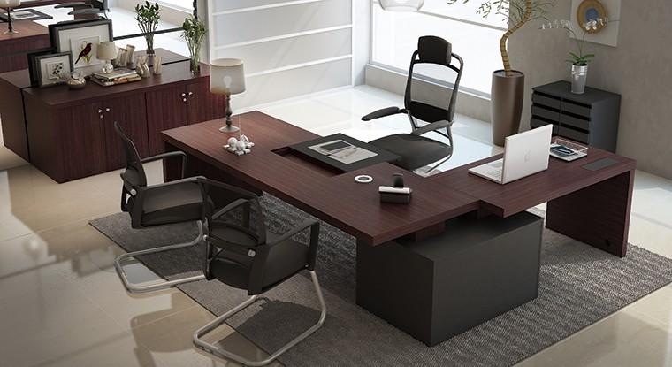 Mesas para escrit rio for Mesa escritorio moderna