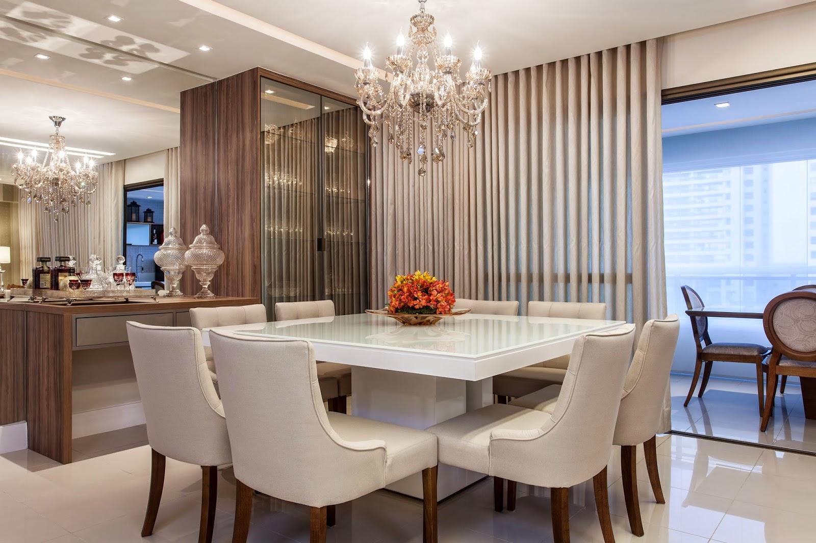 mesa moderna para sala de jantar