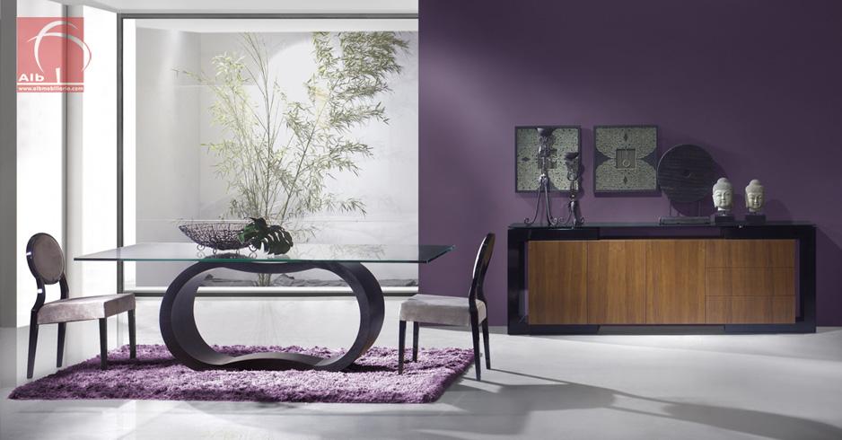mesa moderna sala