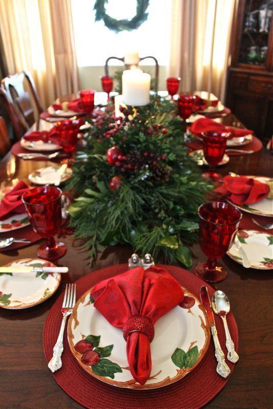 mesa natal decorada 1