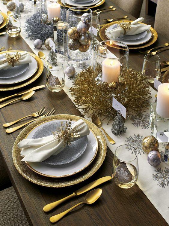 mesa natal decorada 2