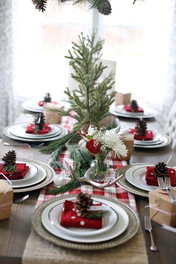 mesa natal decorada 4