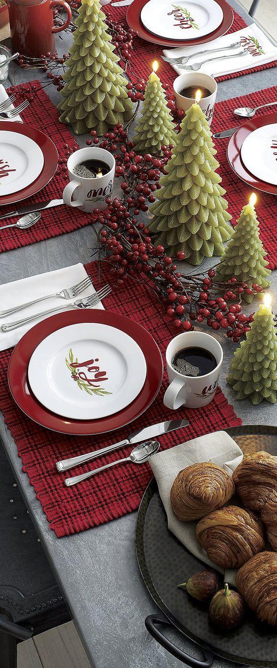 mesa natal decorada 5