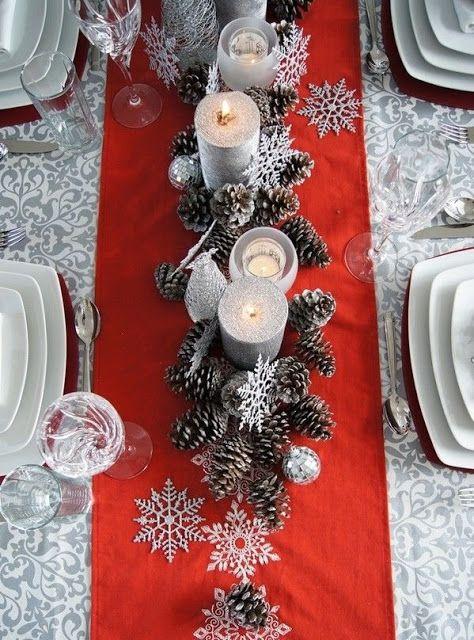 mesa natal decorada 6