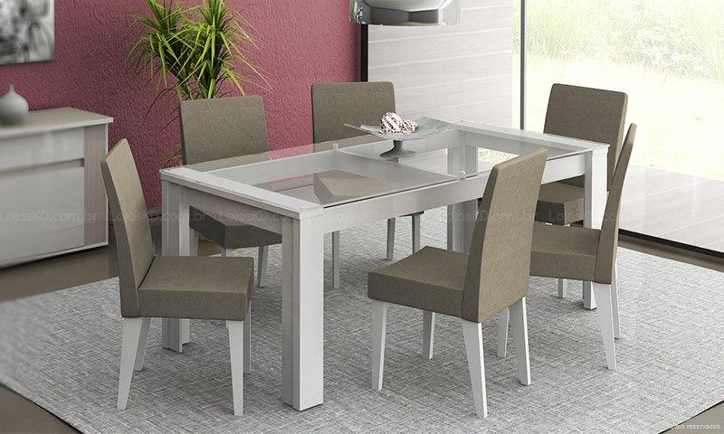 mesa para sala de jantar decoracao