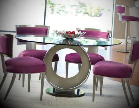 mesa redonda moderna