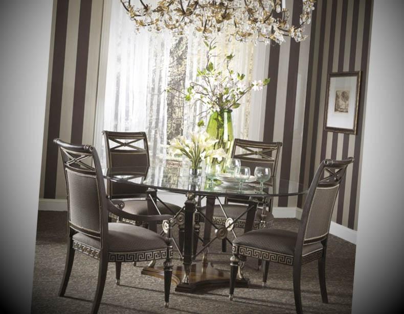 mesa redonda sala jantar