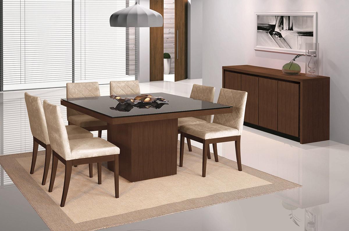 mesa sala de jantar quadrada