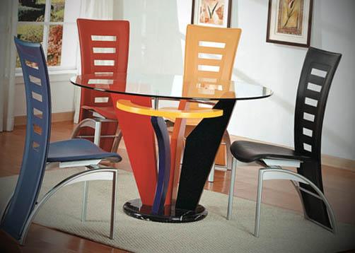 mesa sala de jantar redonda