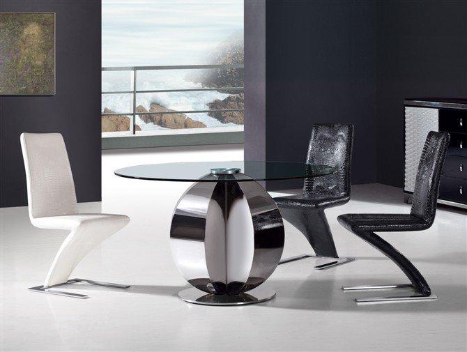 mesas de vidro modernas