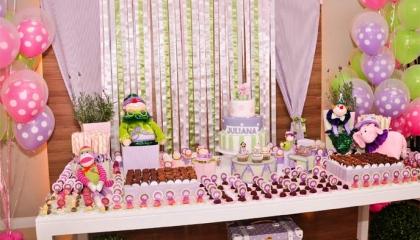 mesas decoradas festa infantil