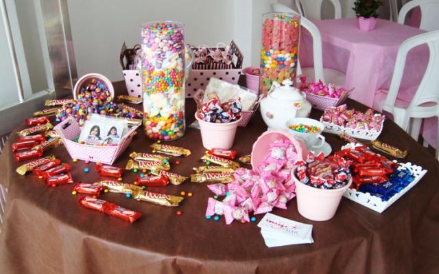 mesas decoradas infantil