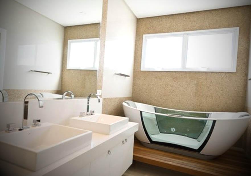 modelo banheiro moderno