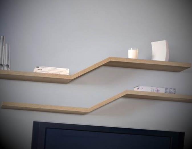 modelo prateleira madeira