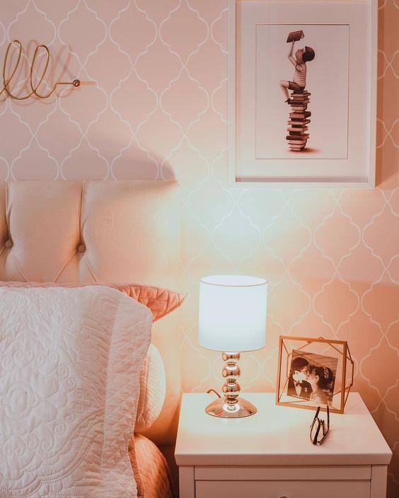 modelos de abajur para quartos 1