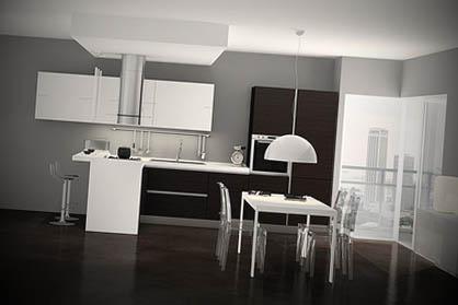 modern modular italian kitchen