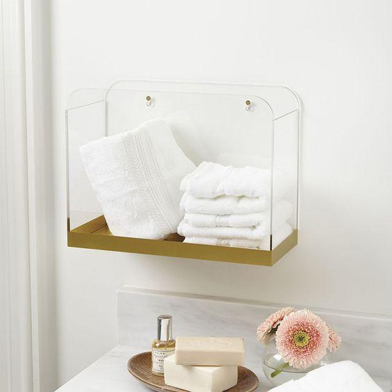 moveis acrilico decoracao banheiro ideias