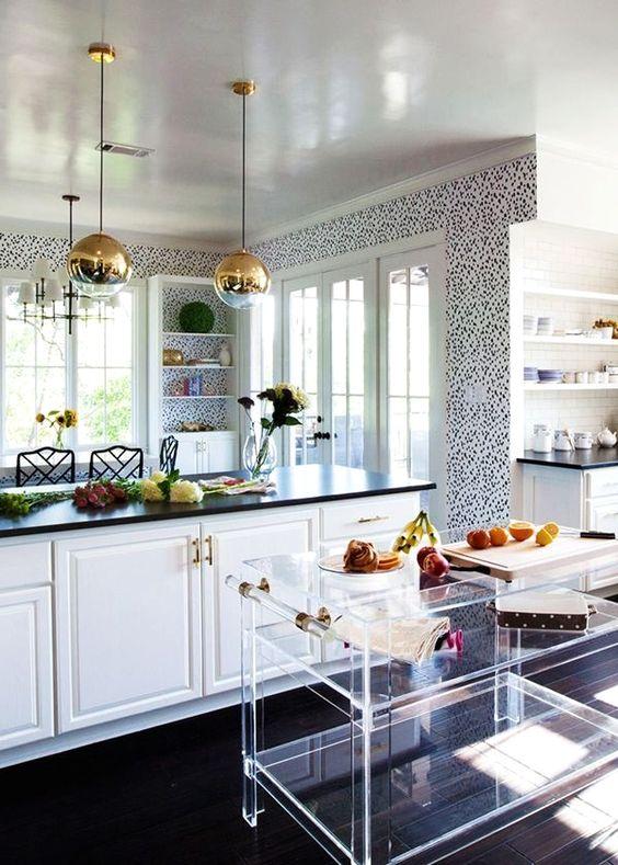 moveis acrilico decoracao cozinha ilhas