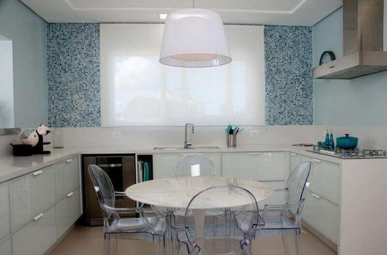 moveis acrilico decoracao cozinha
