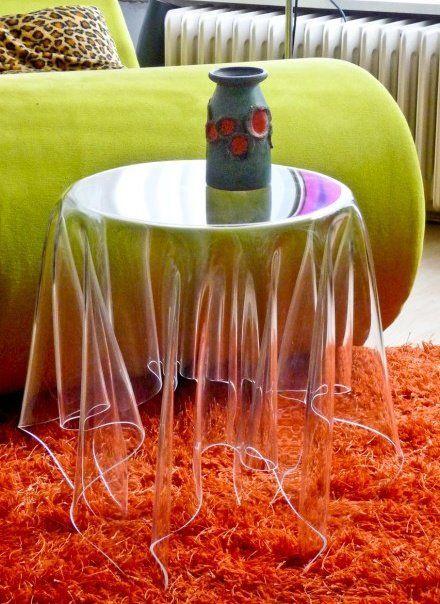 moveis acrilico decoracao mesa