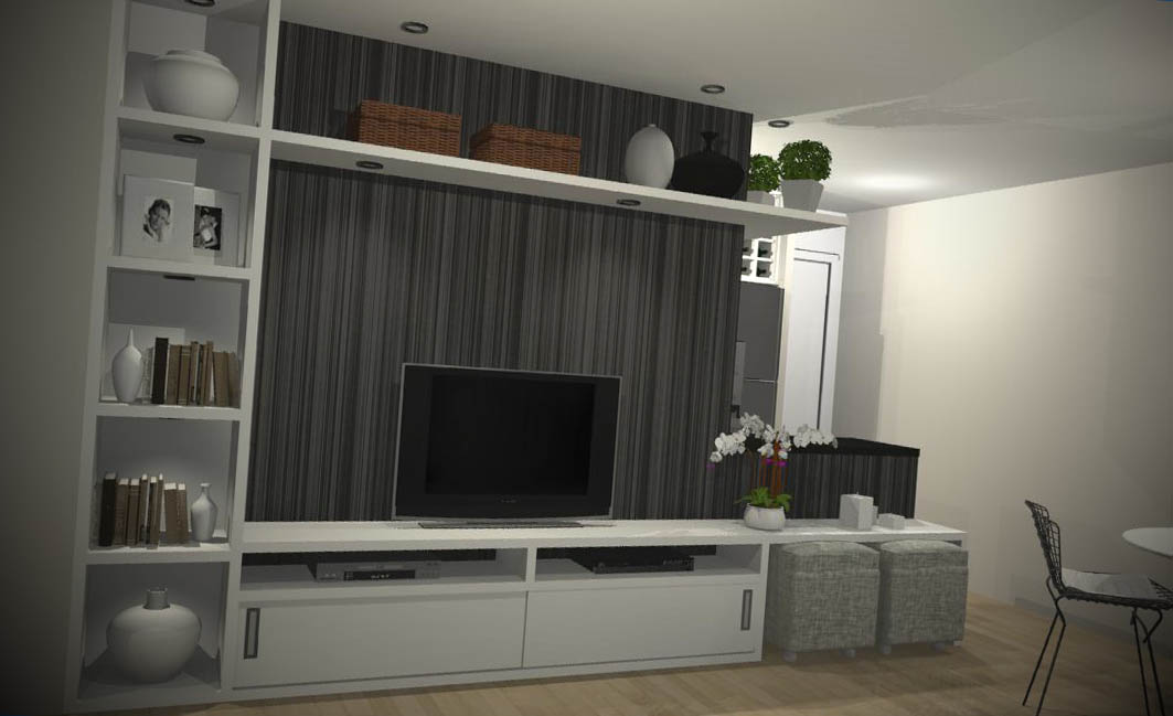 moveis planejados sala home theater
