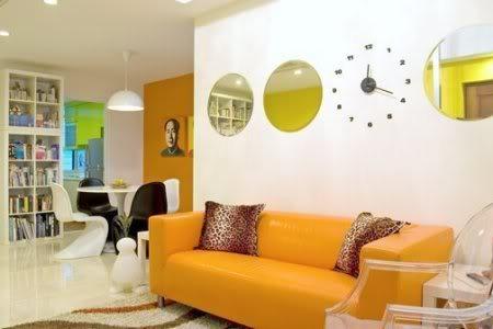 o apartamento decorado