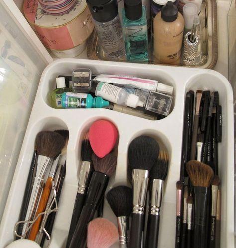 organizar maquiagem ideias criativas 5