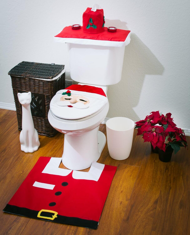 ornamentos natal decoracao banheiro