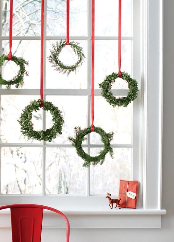 ornamentos natal decoracao janela 1