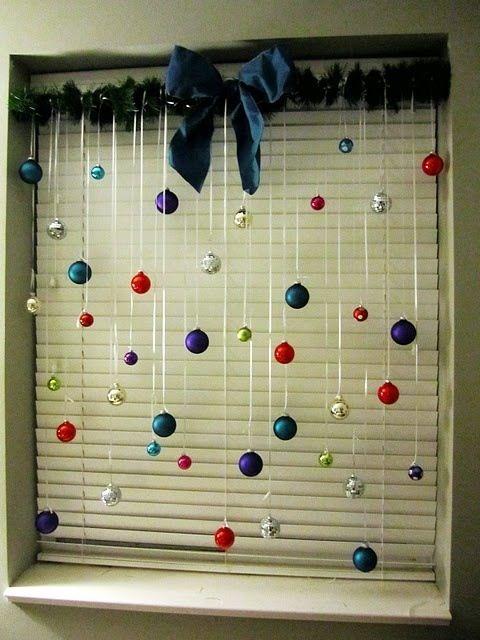 ornamentos natal decoracao janela