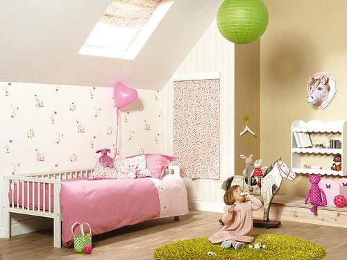 papel parede quarto infantil