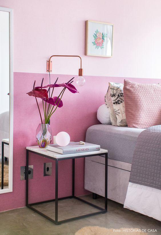 paredes rosa decoracao quarto 3