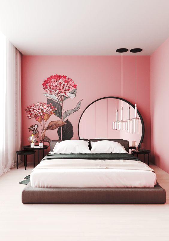paredes rosa decoracao quarto 4