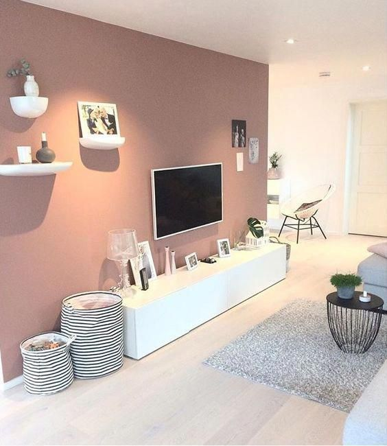 paredes rosa decoracao sala 1