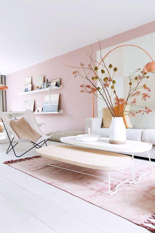 paredes rosa decoracao sala 2