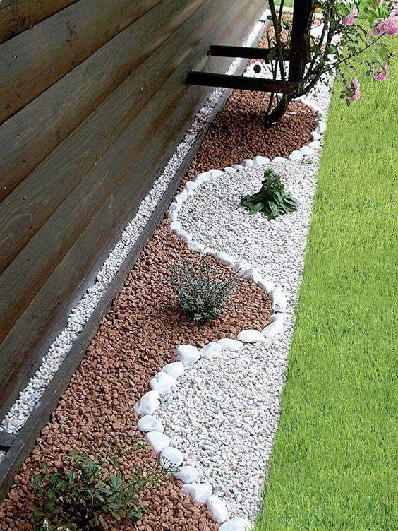 pedras decorativas jardim mista