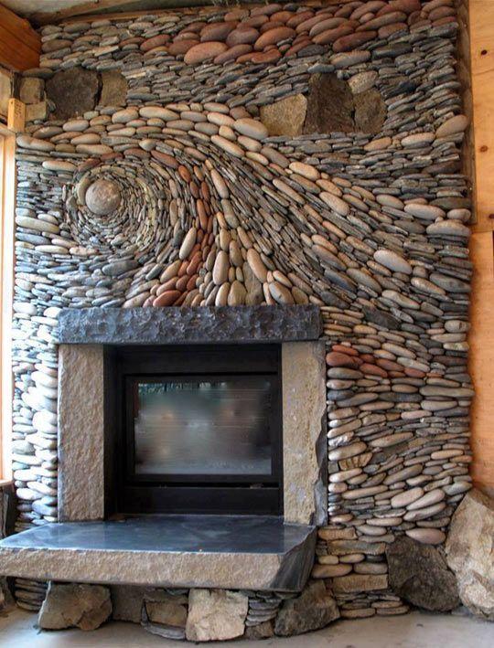 pedras decorativas parede casa