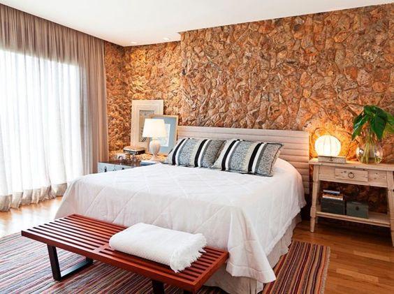 pedras decorativas quarto