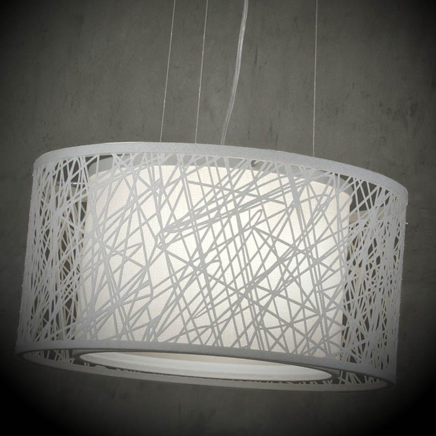 pendente luminaria branco