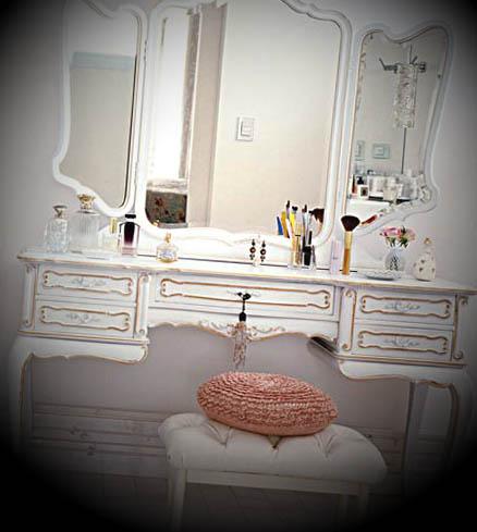 Penteadeiras para quarto feminino