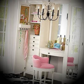 penteadeiras para quartos femininos modelo
