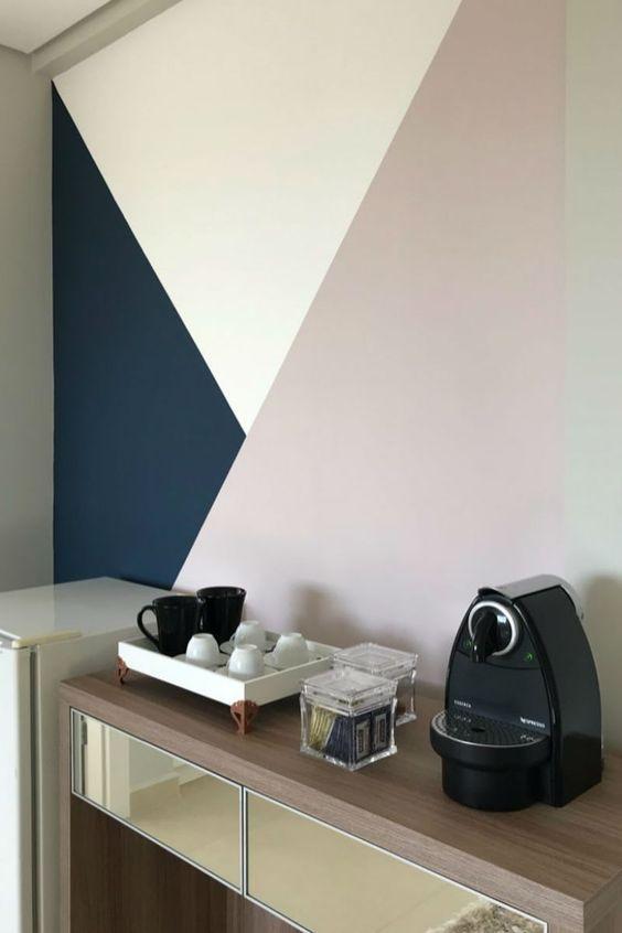 pintura.geometrica cozinha canto cafe