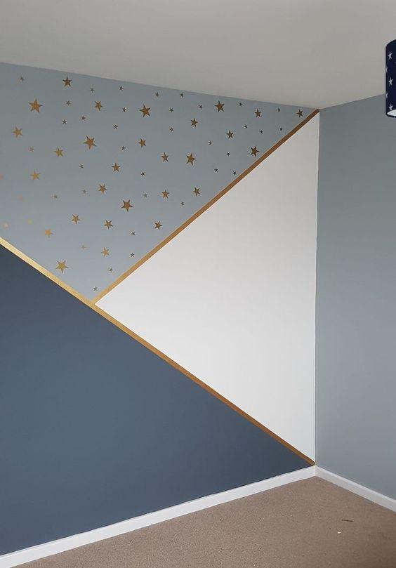pintura.geometrica quarto crianca menino