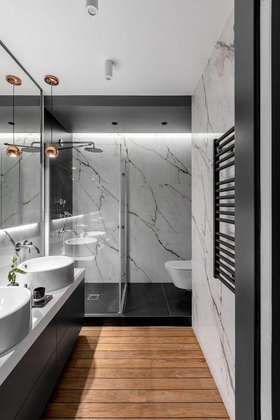 piso banheiro dicas modelos 10