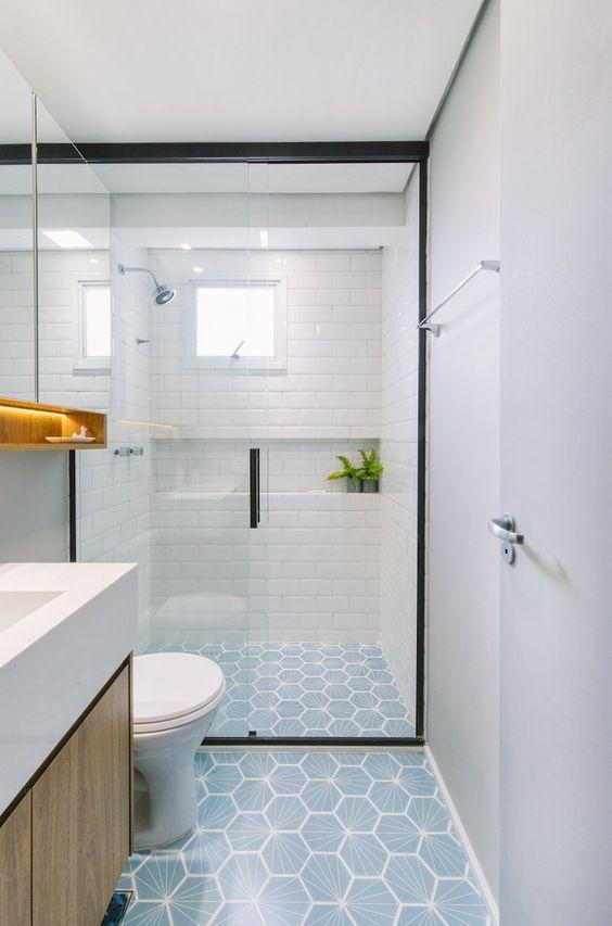 piso banheiro dicas modelos